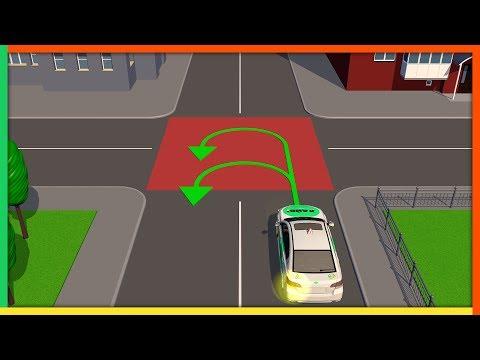 Видео уроки разворот на перекрестках