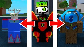 Ben 10 All Ultimate Aliens Roblox Ben 10 Showdown Universel