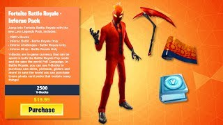 "How to Get NEW ""INFERNO PACK"" in Fortnite! INFERNO SKIN BUNDLE LEAKED! (Inferno Challenges/ Rewards)"