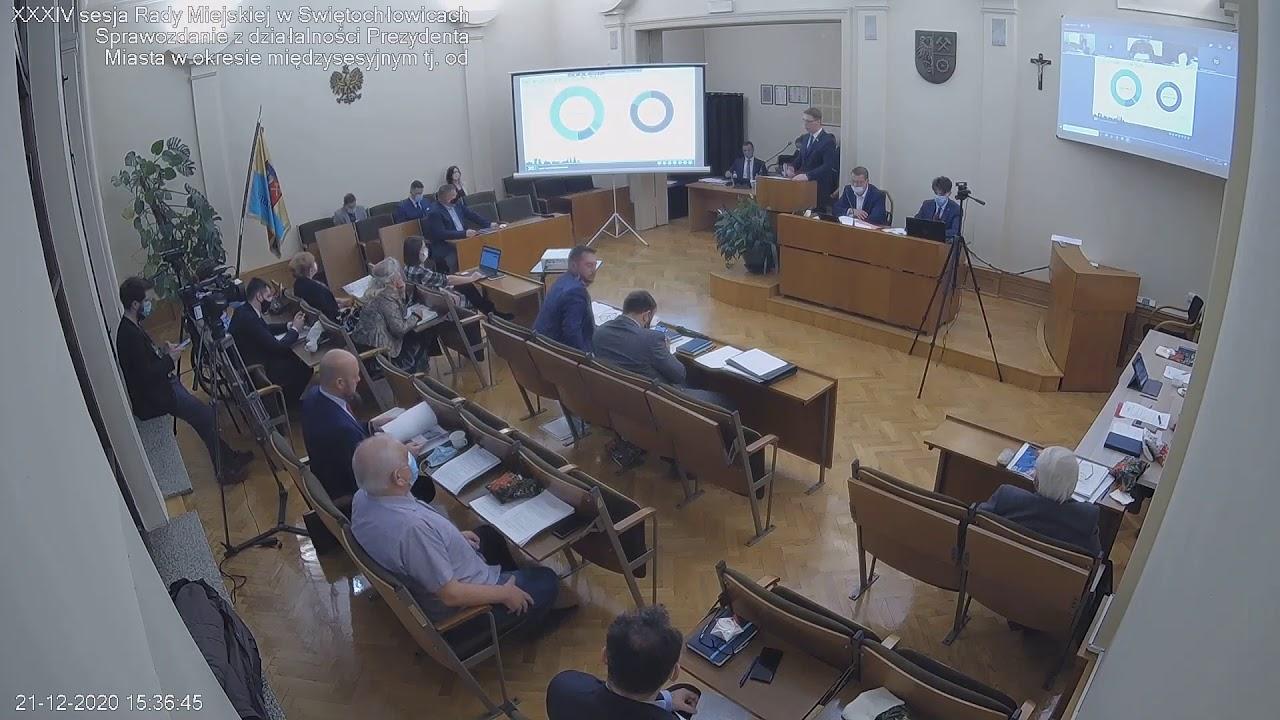 XXIV sesja Rady Miejskiej w Świętochłowicach - 21.12.2020