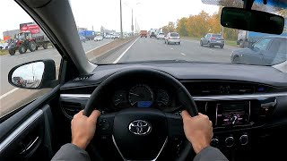 Toyota corolla POV test drıve