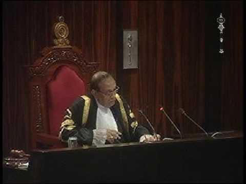 Parliament of Sri Lanka - 21 September 2016 Part 1