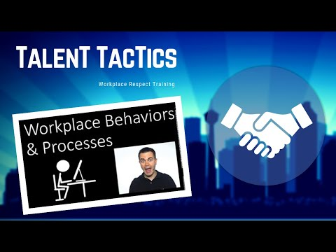 Workplace Respect Training (Violence, Bullying and Harassment)