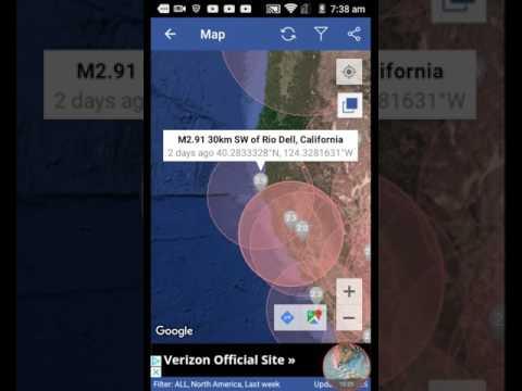 Arizona earthquake is a possible warning zone