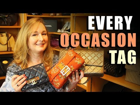 Bag For Every Occassion Tag | Jill Maurer