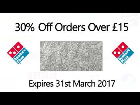 30% Off Dominos Pizza Discount Code - March 2017