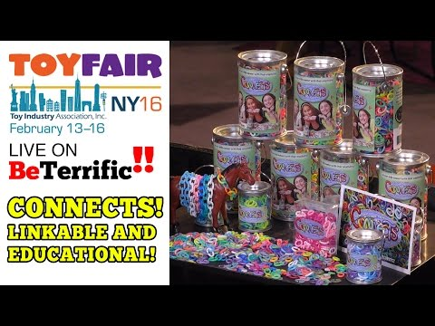 Live from Toy Fair 2016! Marcela Hollywood from Fathom Company joins us on the BeTerrific Toy Fair 2016 Live Show to show us Connects, a creative, imaginative, and educational linkable toy that lets kids create jewelry!