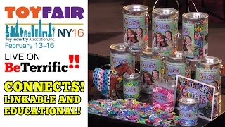 Creative and Educational Linkable Toys! CONNECTS at Toy Fair 2016!