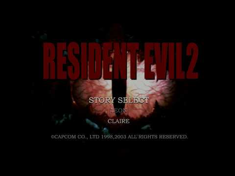 Resident Evil 2 HD backgrounds and UI with Topaz Gigapixel (remaster ?)