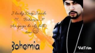 Lyrics ll Weed da saroor ll Bohemia I J lucky ll deep jandu ll new song