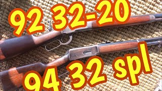 Winchester 94 in 32 special vs Winchester 92 in 32 WCF (32-20)