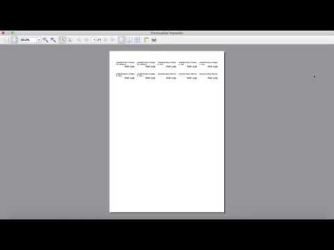 Crear Etiquetas Articulos - Maresoft ERP