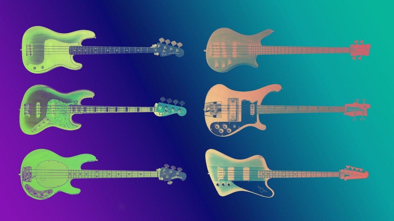 famous bass guitars sound comparison guitarbank session youtube