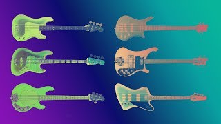 Download Famous Bass guitars sound comparison. Guitarbank session Mp3 and Videos