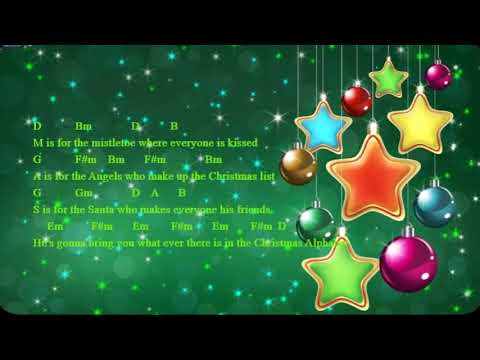 Christmas Alphabet Song