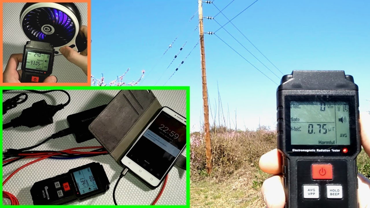 Mustool MT525 ElectroMagnetic Radiation Meter - Full Review with Indoor &  Outdoor Test Samples