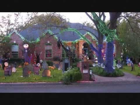 Amazing! Nightmare Before Christmas Halloween decorations - YouTube