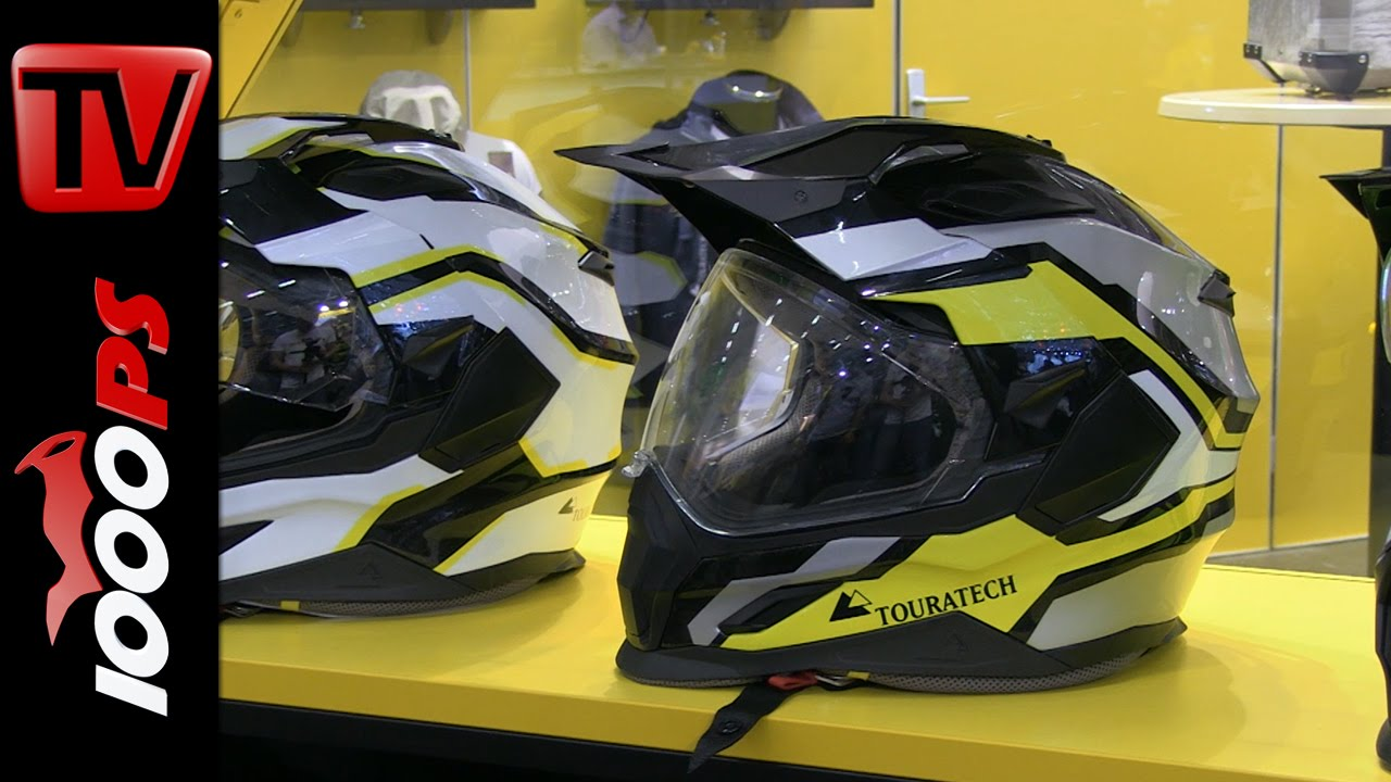 Touratech Helmet 2015 | Colors, Price, Innovations - YouTube