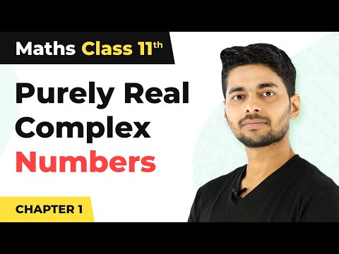Argument When Complex Number is Purely Real   Maths Class 11