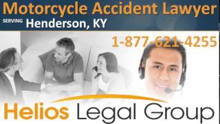 Henderson Motorcycle Accident Lawyer & Attorney - Kentucky