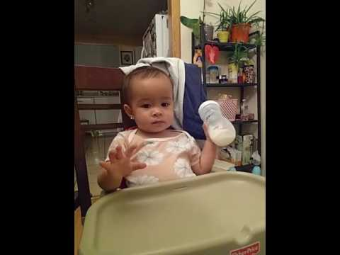 Funny video-16 Months old baby talking on the phone. - YouTube