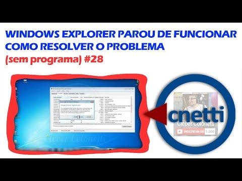 Windows Explorer Parou De Funcionar (RESOLVIDO) | Cleber Colonetti #28