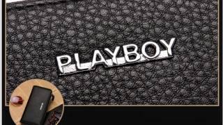 플레이보이 남성용 장지갑,명품지갑,명품가죽지갑