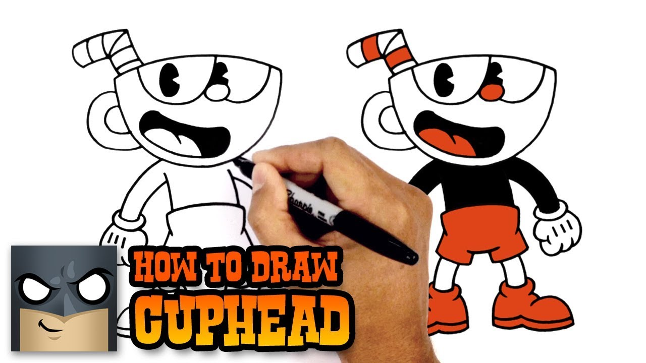 How To Draw Cuphead Youtube