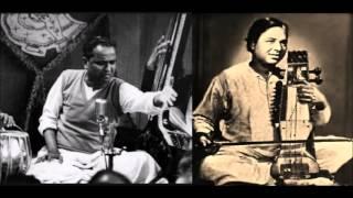 Kumar Gandharva accompanied by Ram Narayan