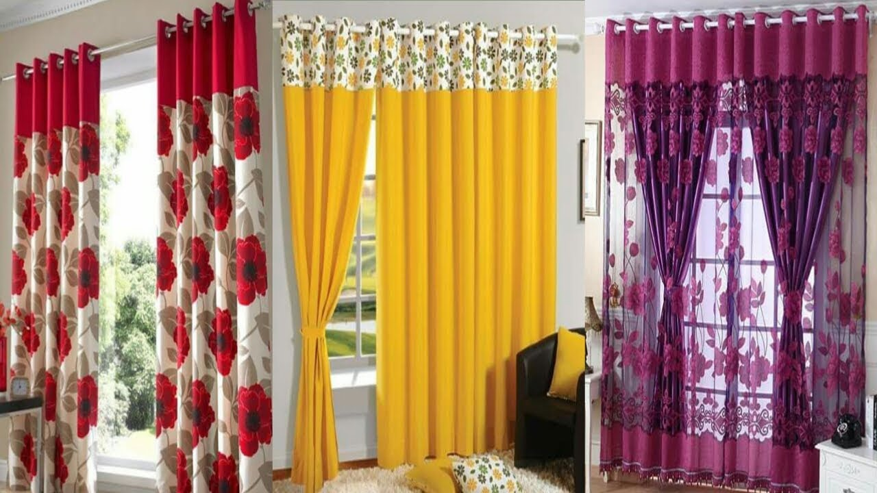 wonderful minimalist living room design | Wonderful Living Room Curtain Ideas,simple curtain design ...