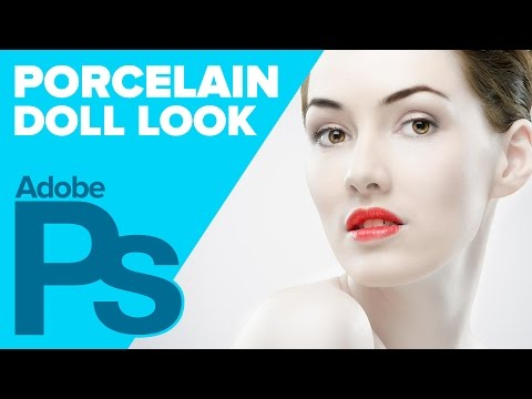 How to Create a Porcelain Doll in Adobe Photoshop