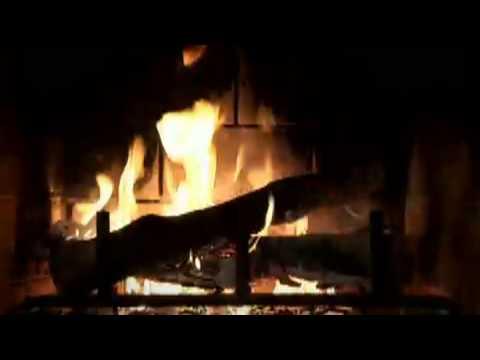YULE LOG AND CHRISTMAS MUSIC( I HOUR) - YouTube