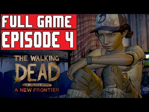 The Walking Dead Season 3 Episode 4 Gameplay Walkthrough Part 1 FULL GAME (NEW FRONTIER)