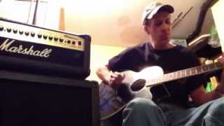 Dave does Metallica Nothing Else Matters Karaoke cover (no lyrics)