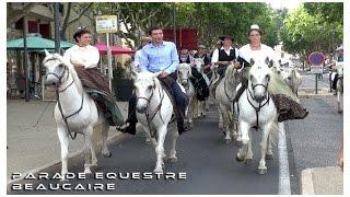 Parade Equestre Beaucaire 02-07-2015