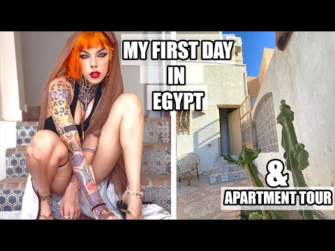 My FIRST day in EGYPT + Apartment tour