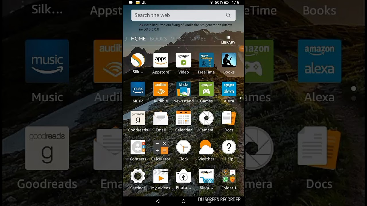 install apk on kindle fire