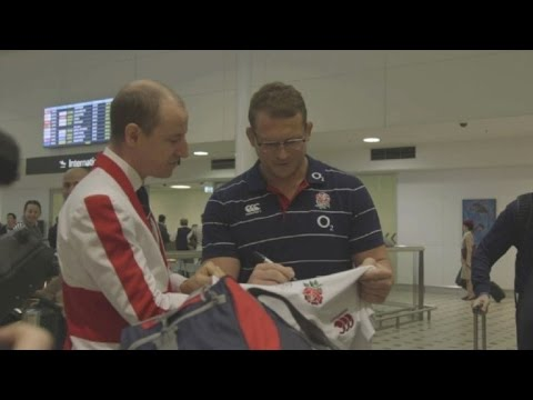 RugbyU: England arrive in Brisbane for Australia tour