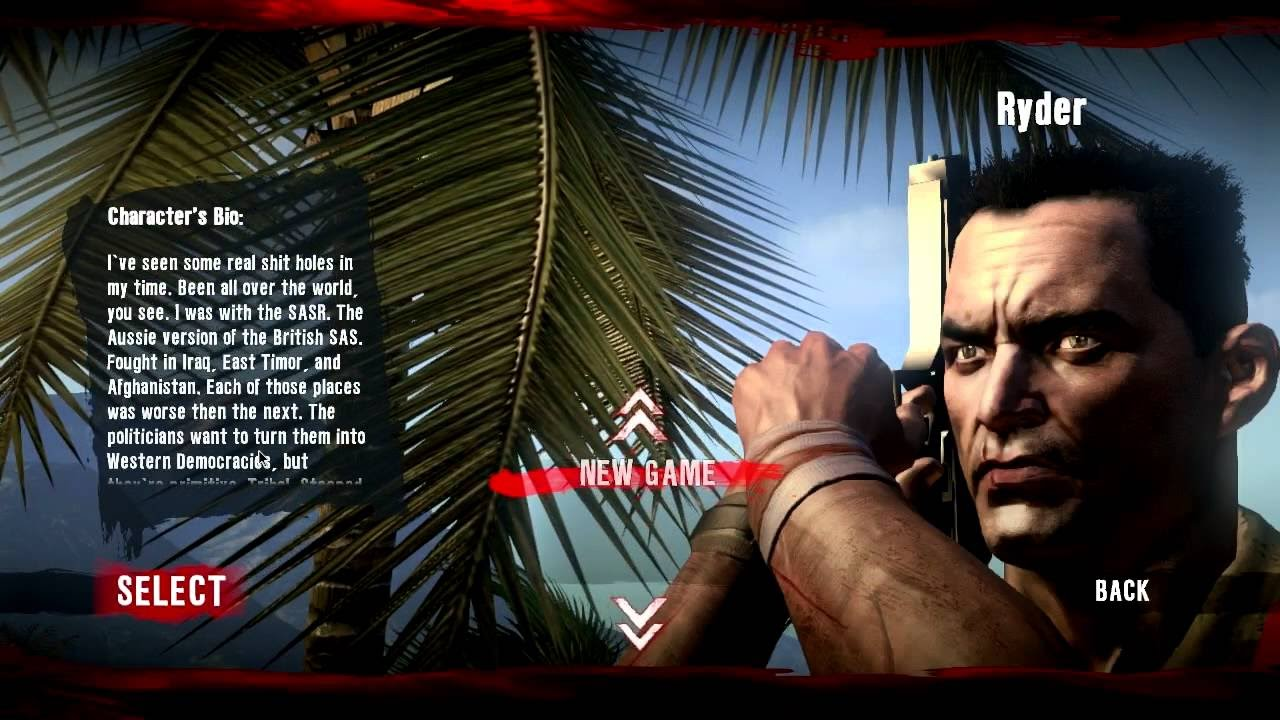 Dead Island Ryder White GAMEPLAY Definitive Collection