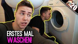 Oh GOTT! Wir waschen das ERSTE MAL Wäsche in unserem LEBEN! Geht das gut ?! | Max und Chris