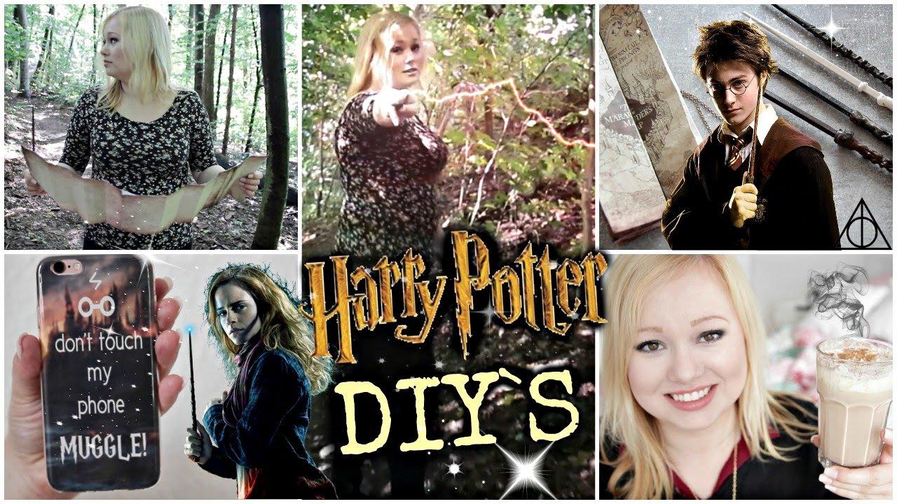 5 Geniale Harry Potter Diys Karte Des Rumtreibers Butterbier Zauberstäbe Handyhüllen