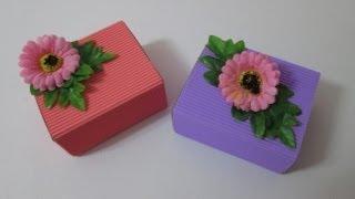 Diy : #22 Cute Door Gift Box ♥