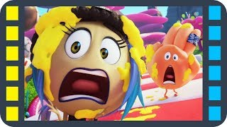 Игра в Candy Crush — «Эмоджи фильм» сцена 4/8 (2017) HD