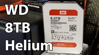 Western Digital Red 8TB Full Review - Consumer Helium Hard Disk