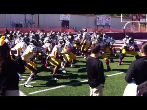 Tyler Junior College Apaches doing the Haka