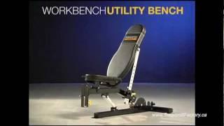 Powertec Utility Bench Canada WB-UB11