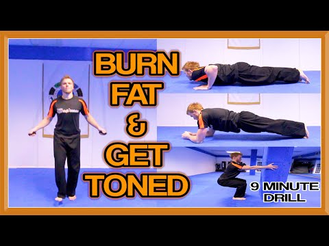 9 Minute Workout | Cardio & Muscular Endurance