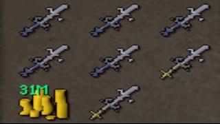 Runescape - Sparc Mac's ARMADYL GODSWORD PLANTATION! [Let's Stake]