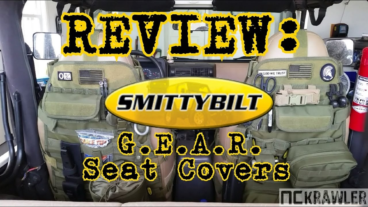 Smittybilt GEAR Seat Cover Review