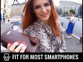RFID Wallet for Women + Wrist Strap & Cell Phone Holder